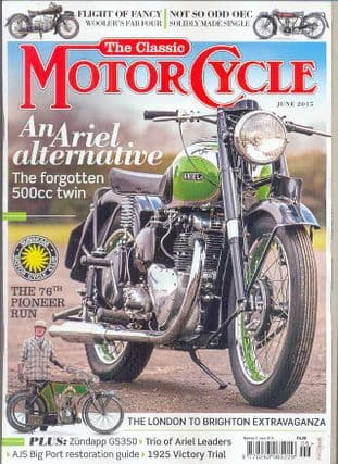 Classic Motorcycle Magazine - 2015-06 June 2015