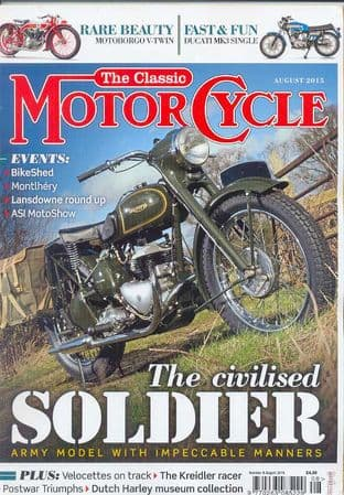 Classic Motorcycle Magazine - 2015-08 August 2015