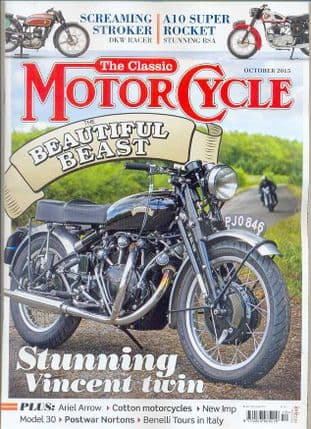 Classic Motorcycle Magazine - 2015-10 October 2015
