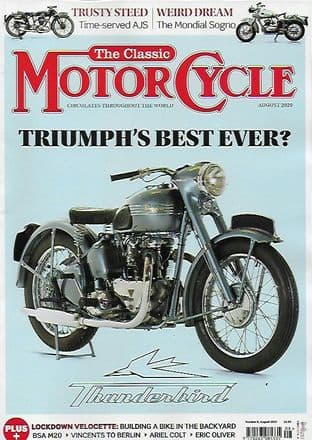 Classic Motorcycle Magazine - 2020-08 August 2020