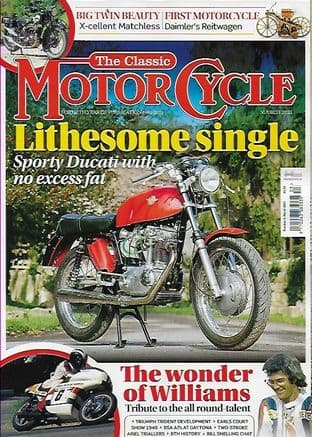 Classic Motorcycle Magazine - 2021-03 March 2021