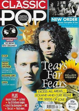 Classic Pop Magazine - Issue 66 - N/December 2020 (Featuring  Tears For Fears/New Order)