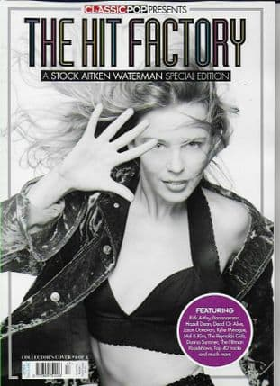 Classic Pop Presents Magazine - IssueTHE HIT FACTORY - cover 1 Kylie