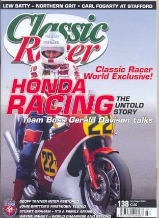 Classic Racer Magazine - No.138 / J-August 2009
