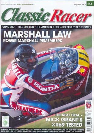 Classic Racer Magazine - No.143 / M-June 2010