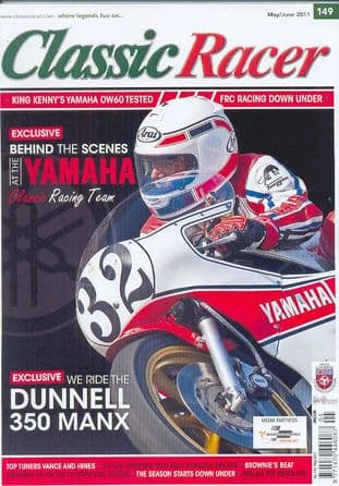 Classic Racer Magazine - No.149 / M-June 2011