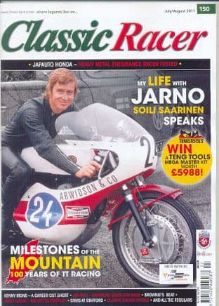 Classic Racer Magazine - No.150 / J-August 2011