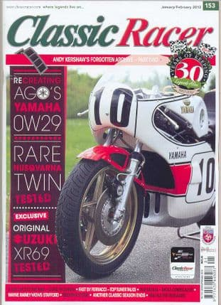 Classic Racer Magazine - No.153 / J-February 2012