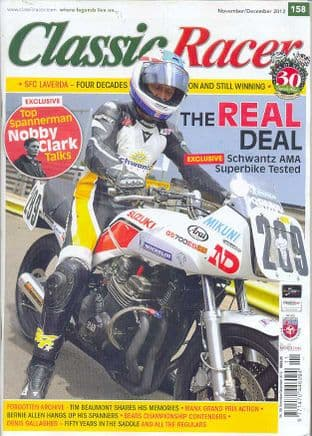 Classic Racer Magazine - No.158 / N-December 2012
