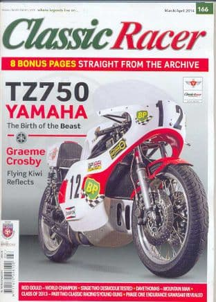 Classic Racer Magazine - No.166 / M-Apr.2014