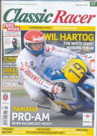 Classic Racer Magazine - No.167 / M-Jun.2014