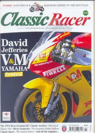 Classic Racer Magazine - No.174 /J-Aug.2015