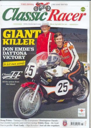 Classic Racer Magazine - No.176 /N-Dec.2015