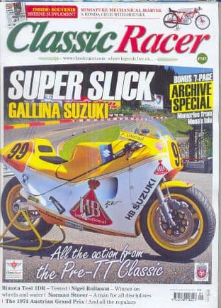 Classic Racer Magazine - No.181 /S-October 2016