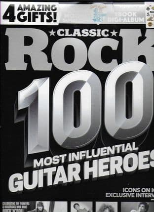 Classic Rock Magazine - Issue No.287 May 2021 (100 Most Influentual GUITAR HEROES)