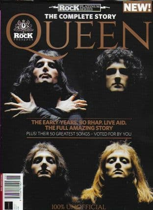 Classic Rock Platinum Series Magazine - Issue 26 (QUEEN -The Complete Story)