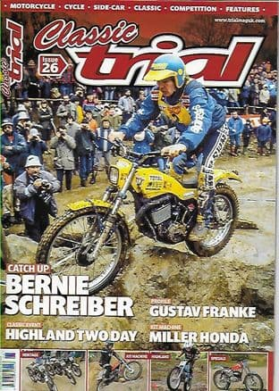 Classic Trial Magazine Set - 2 issues  Nos. 26 & 25
