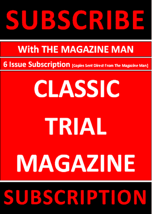 Classic Trial Magazine - Subscription - 6 issues