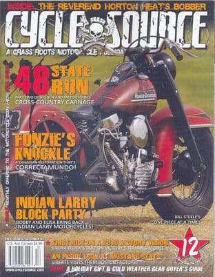 Cycle Source Magazine - Issue 2009-12 December 2009