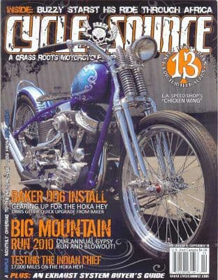 Cycle Source Magazine - Issue 2010-09 September 2010