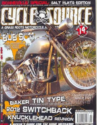 Cycle Source Magazine - Issue 2011-11 November 2011