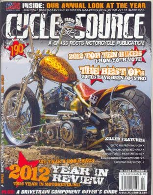 Cycle Source Magazine - Issue 2013-01 January 2013