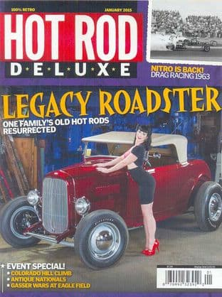Hot Rod Deluxe Magazine - Issue 2015-01 January 2015