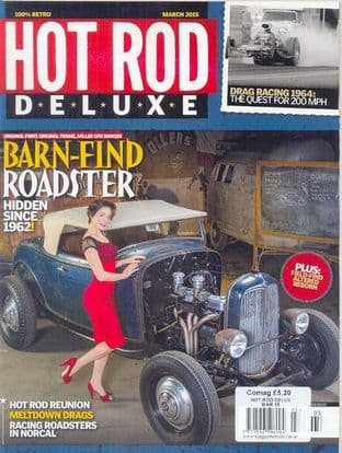 Hot Rod Deluxe Magazine - Issue 2015-03 March 2015