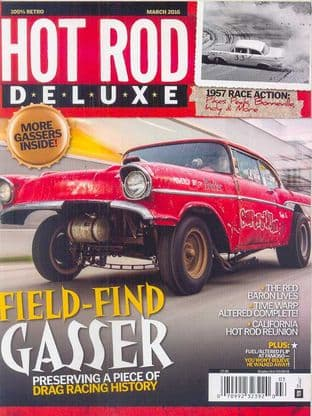 Hot Rod Deluxe Magazine - Issue 2016-03 March 2016