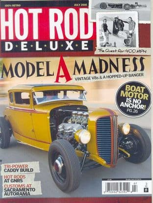 Hot Rod Deluxe Magazine - Issue 2016-07 July 2016