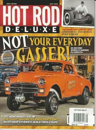 Hot Rod Deluxe Magazine - Issue 2018-05 May 2018