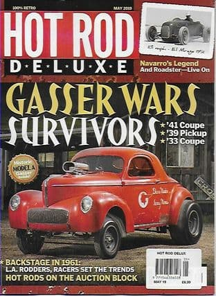 Hot Rod Deluxe Magazine - Issue 2019-05 May 2019