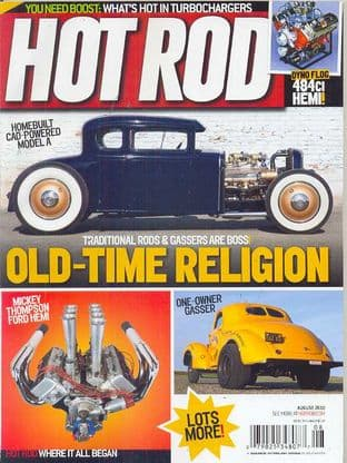 Hot Rod Magazine - Issue 2010-08 August 2010