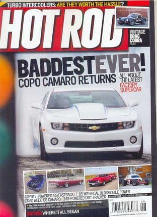 Hot Rod Magazine - Issue 2012-08 August 2012
