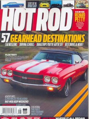 Hot Rod Magazine - Issue 2013-08 August 2013