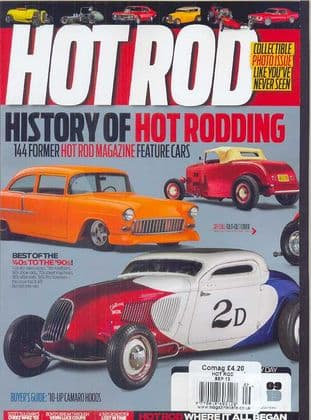 Hot Rod Magazine - Issue 2013-09 September 2013