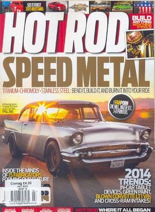 Hot Rod Magazine - Issue 2014-03 March 2014