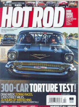 Hot Rod Magazine - Issue 2015-02 February 2015