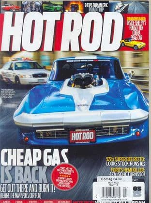 Hot Rod Magazine - Issue 2015-05 May 2015