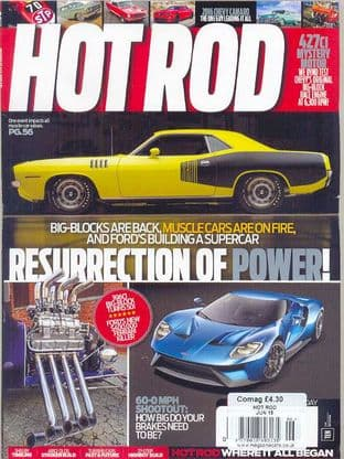 Hot Rod Magazine - Issue 2015-06 June 2015