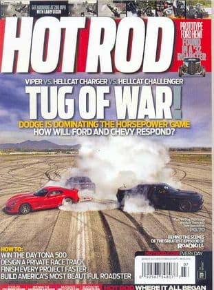 Hot Rod Magazine - Issue 2015-07 July 2015