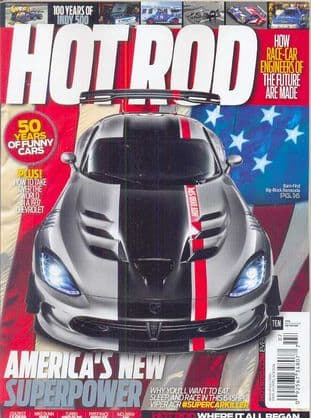 Hot Rod Magazine - Issue 2016-07 July 2016