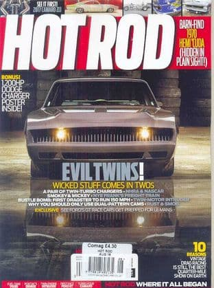 Hot Rod Magazine - Issue 2016-08 August 2016