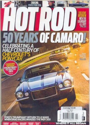 Hot Rod Magazine - Issue 2016-11 November 2016
