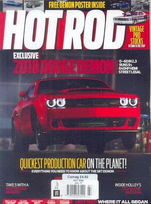 Hot Rod Magazine - Issue 2017-07 July 2017