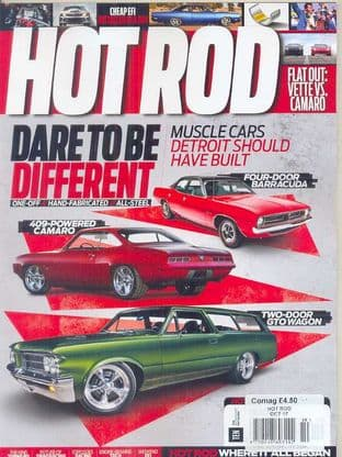 Hot Rod Magazine - Issue 2017-10 October 2017