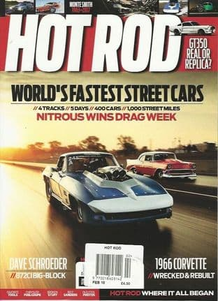 Hot Rod Magazine - Issue 2018-02 February 2018