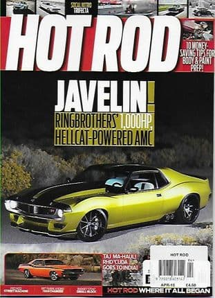 Hot Rod Magazine - Issue 2018-04 April 2018