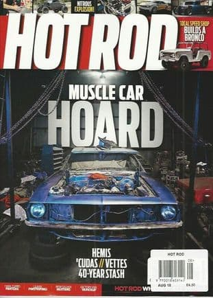 Hot Rod Magazine - Issue 2018-08 August 2018