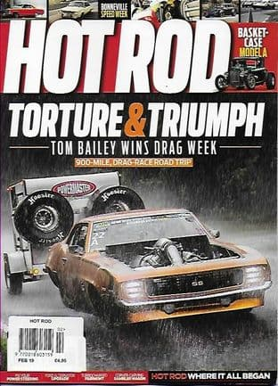 Hot Rod Magazine - Issue 2019-02 February 2019
